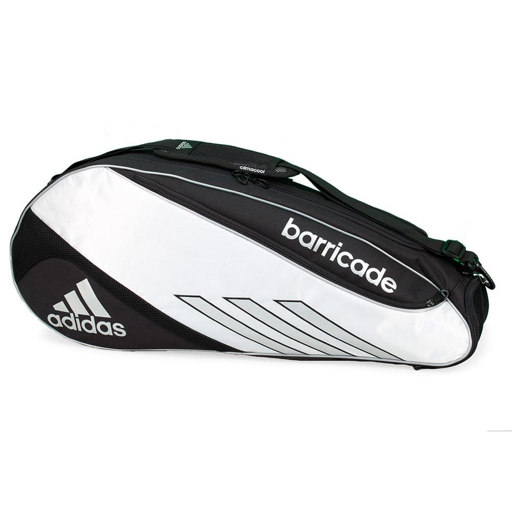 Barricade III Tour 3 Pack Tennis Bag Black and White