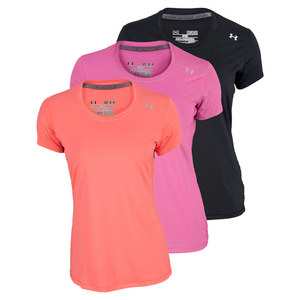 UNDER ARMOUR WOMENS SONIC SHORT SLEEVE TEE