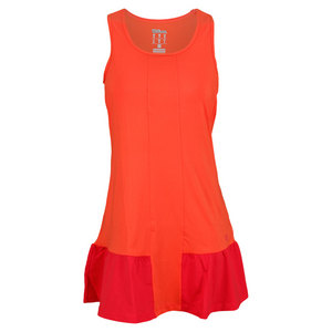 WILSON WOMENS SOLANA RUFFLE TENNIS DRESS