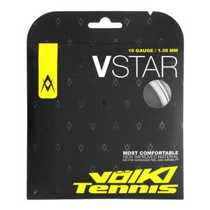 VOLKL V STAR TENNIS STRING SILVER