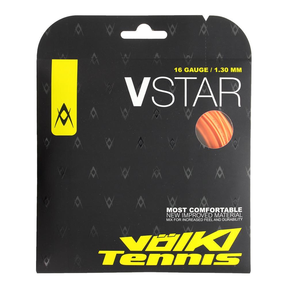 V Star Tennis String Fluo Orange