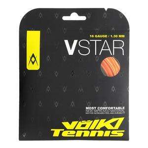 V Star Tennis String Fluo Orange