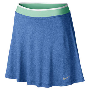NIKE WOMENS HIGH WAISTED KNIT TENNIS SKIRT