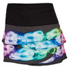 LUCKY IN LOVE Women`s Smokin Ball Tennis Skirt Print