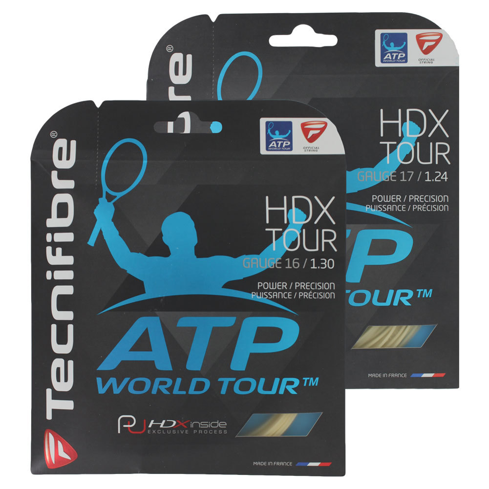 Hdx Tour Tennis String Natural