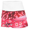LUCKY IN LOVE Women`s Collage Tennis Skirt Print