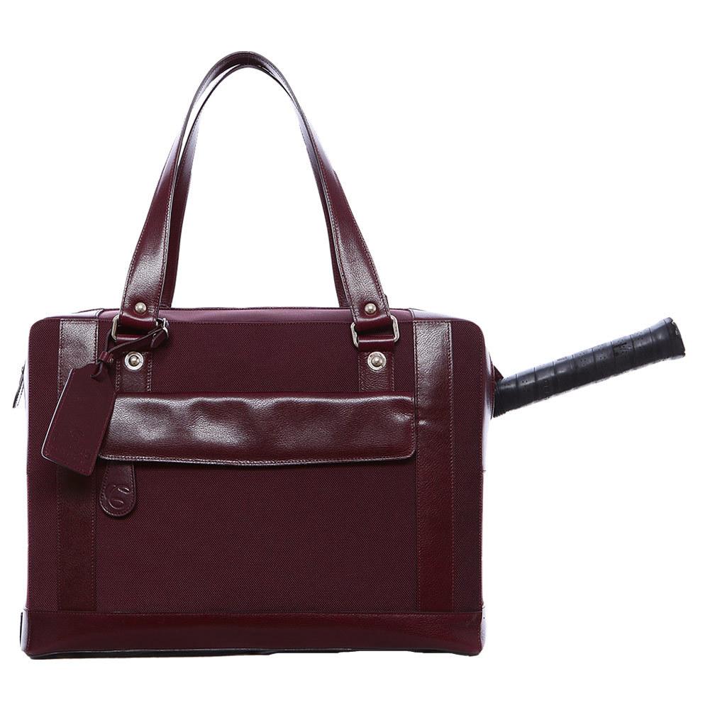The Marina Tennis Bag Burgundy