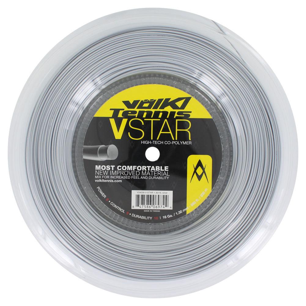 V Star Tennis String Reel Silver