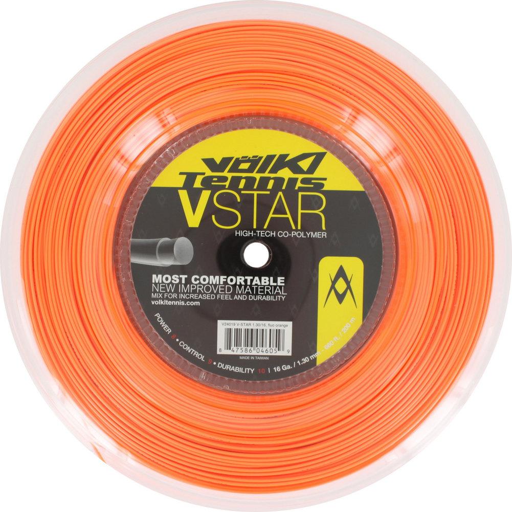 V Star Tennis String Reel Fluo Orange