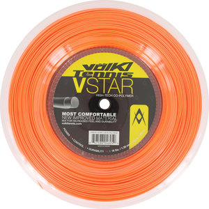 V Star Tennis String Reel Fluo Orange