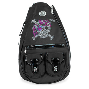 WHAK SAK SMALL CAPTAIN JACK TENNIS BAG BLACK