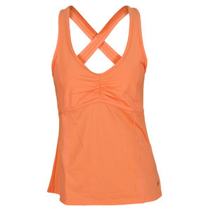 LIJA WOMEN`S CROSSBACK TENNIS TANK