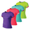 NIKE Girls` Miler Short Sleeve Running Crew