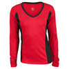 TAIL Women`s Autumn Long Sleeve Tennis Top Red