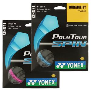 Poly Tour Spin 125/16L Tennis String