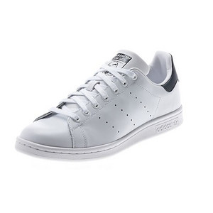 Men`s Stan Smith Tennis Shoes White and Dark Blue