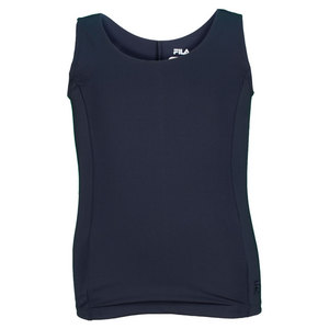 Girls` Heritage Full Back Tennis Tank