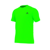 ADIDAS Men`s Ultimate Short Sleeve Crew Tee Solar Green