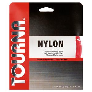 TOURNA NYLON 16G TENNIS STRING PINK