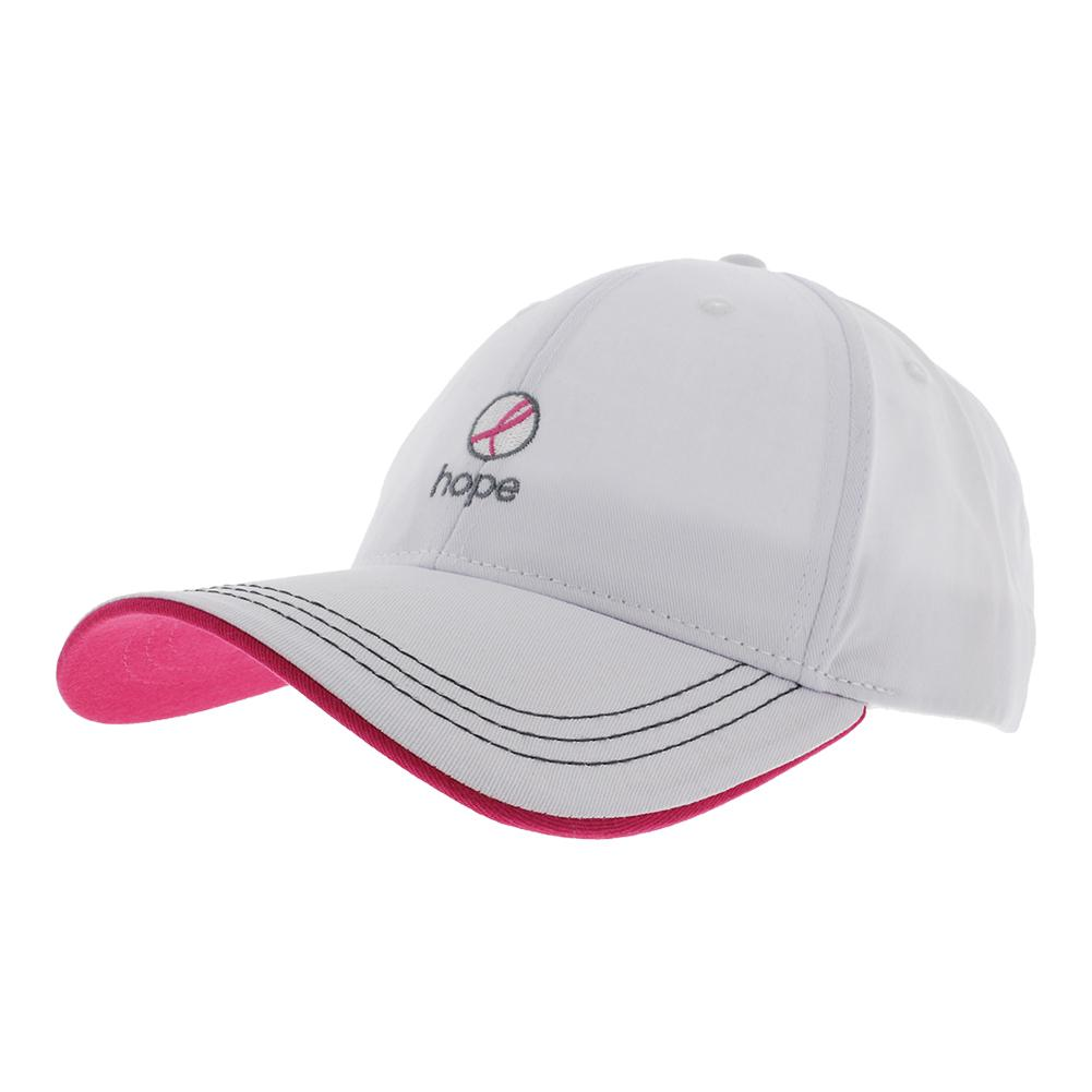 Hope Tennis Cap White