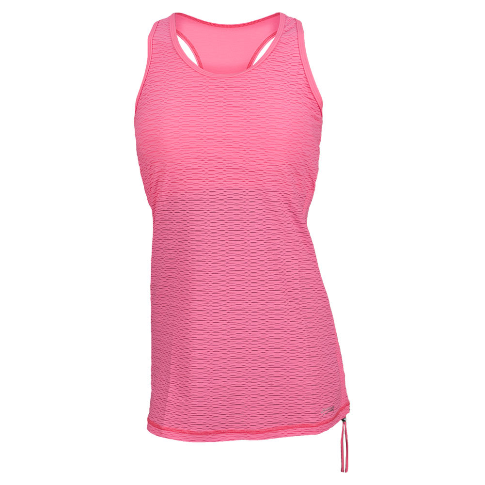 Sofibella Women`s Athletic Tennis Tank Sofi Pink Mesh at Sears.com