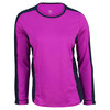 Women`s Leona Long Sleeve Tennis Top Fuchsia by TAIL