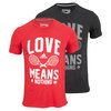 Men`s Love Means Nothing Tennis Tee by ADIDAS