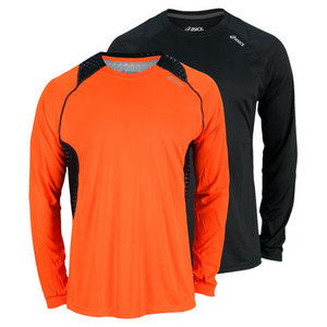 ASICS MENS FAVORITE LONG SLEEVE PERF TOP