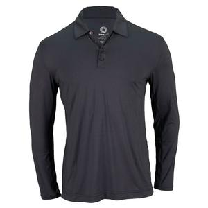 Men`s Long Sleeve Tennis Polo