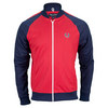 FRED PERRY Men`s Bomber Neck Track Jacket Blood