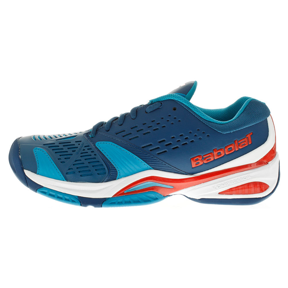 Men's Sfx All Court Tennis Shoes Blue And Red