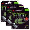 SOLINCO Tour Bite Diamond Rough Tennis String Silver