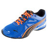 PUMA Junior`s Voltaic 5 Running Shoes Blue and Black