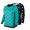 NIKE Women`s Pullover Wool Tennis Sweater