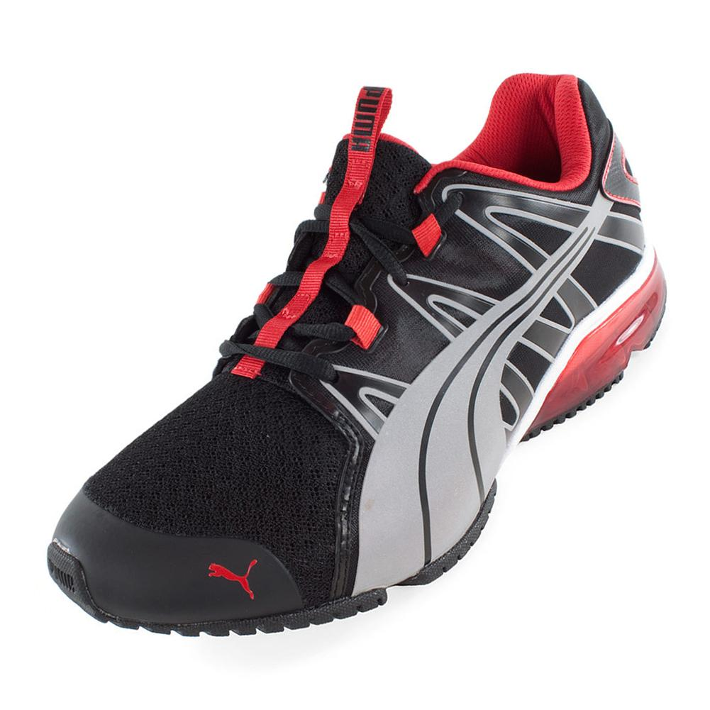Men's Powertech Voltaic Running Shoes Black And Silver