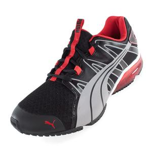 Men`s Powertech Voltaic Running Shoes Black and Silver