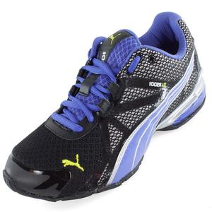 Women`s Voltaic 5 Running Shoes Black and Blue Iris