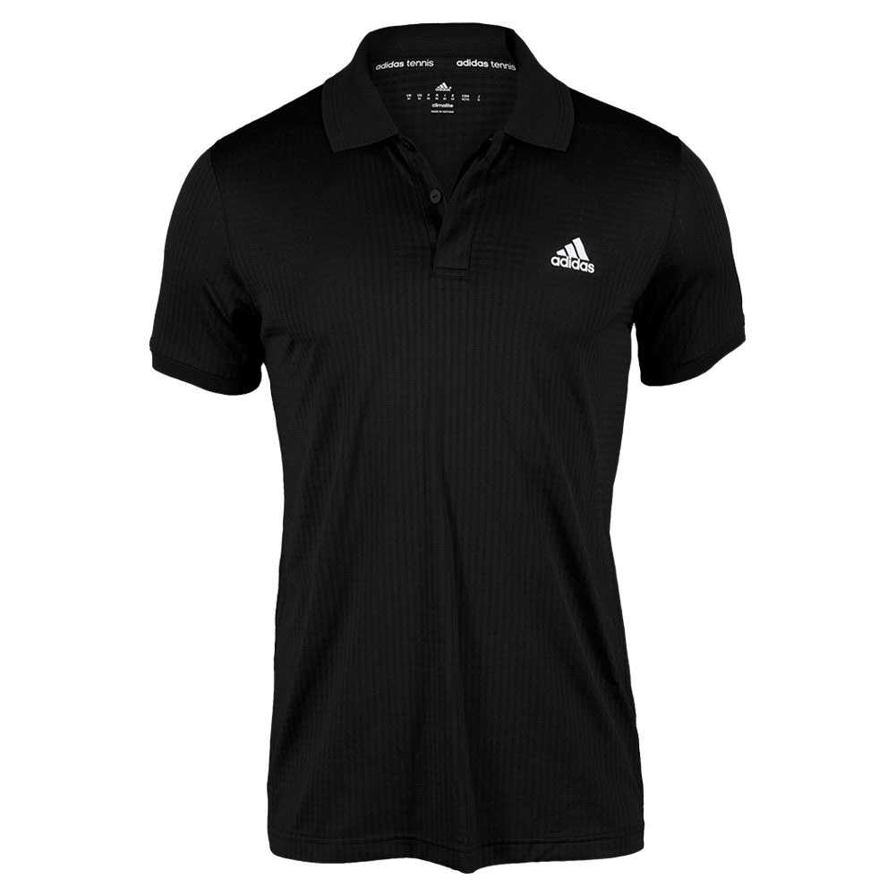 Men`s Tennis Sequencials Essex Polo Black