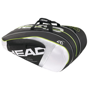 HEAD DJOKOVIC 12R MONSTERCOMBI TNS BAG BK/WH