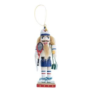 CLARKE SMALL TREE NUTCRACKER ORNAMET