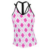 VICKIE BROWN Women`s Bonnie Tennis Tank Pink