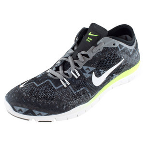 NIKE WOMENS FREE 5.0 TR FIT 4 PNT SHOES BK/AS