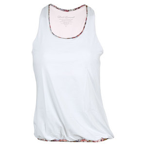 Women`s Racerback Tennis Top White