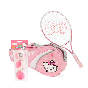 25 Inch Racquet/ 3 Pk Bag/ Ball Bundle