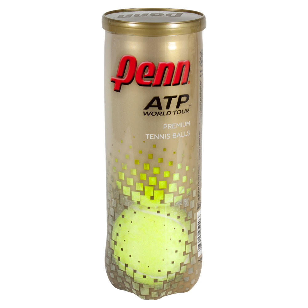 Atp World Tour Extra Duty Tennis Ball Can