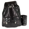 WHAK SAK Blackjack Small Tennis Bag Black