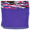 LUCKY IN LOVE Girls` Rouched Tennis Skort Grape