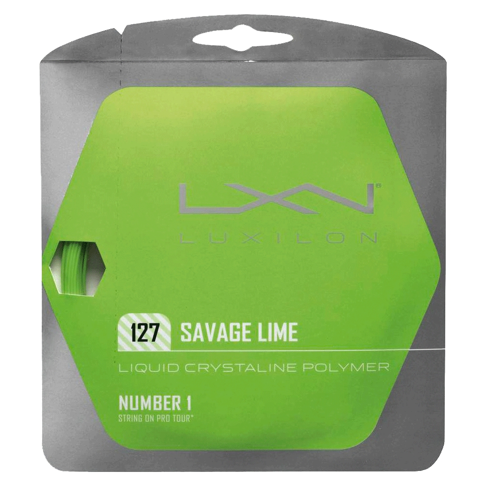 Savage Lime 1.27 16g Tennis String