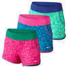 NIKE Girls` Sport Knit 3 Inch Graphic Short