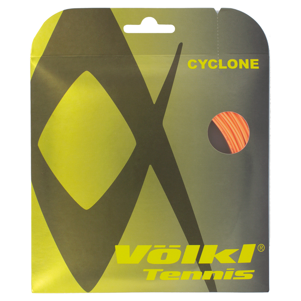 Cyclone 18g Tennis String Fluo Orange